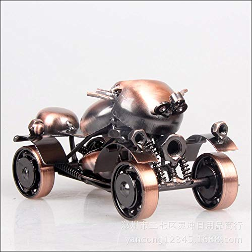 JunBo Eisen Motorrad Modell Ornamente Metall Handwerk kreativ Haus Geschenke