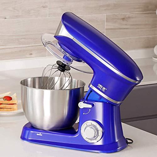 LXD Soporte para el hogar Máquina mezcladora de cocina, 1300W 6 velocidades Tilt-Head Cocina compacta...