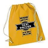 HippoWarehouse Most Amazing Taxi Driver Drawstring Cotton School Gym Kid Bag Sack 37cm x 46cm, 12 litres