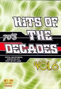 DVD Karaoké Hits Of The Decades Vol. 06 'Années 70-2'