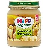 Hipp Organique Banane Et Riz Au Lait 4 + Mois 125G - Lot De 2