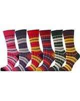 Chapini®, 6x trendy Socken gestreift