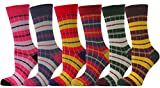 Chapini® - 6x trendy Socken gestreift - Gr. 37-40 - STR6