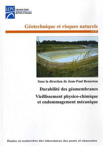 Durabilité des géomembranes : Vieillissement physico-chimique et endommagement mécanique