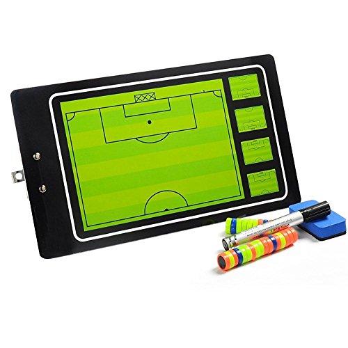 Hochwertiges Magnetisches PVC Fußball Taktikbrett Coaching Board Magnettafel Grafikkarte Lehrtafel von likeitwell