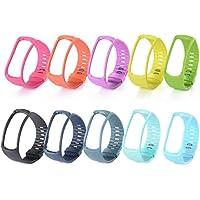 XCSOURCE 10pcs Bracelet de rechange Bande de Remplacement Wristband avec Fermoir pour Samsung Gear Fit R350