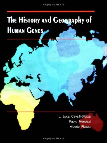 The History and Geography of Human Genes by Luigi Luca Cavalli-Sforza (25-Jul-1994) Hardcover