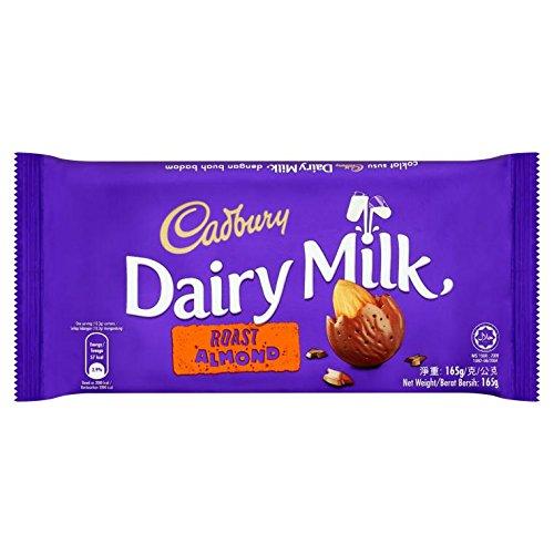 Cadbury Dairy Milk Roast Almond Bar (165 g)
