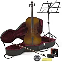 Student 4/4 Cello Antique Fade mit Anfängerpaket