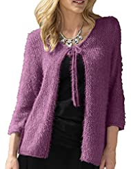 TopsandDresses - Gilet - Cardigan - Manches 3/4 - Femme