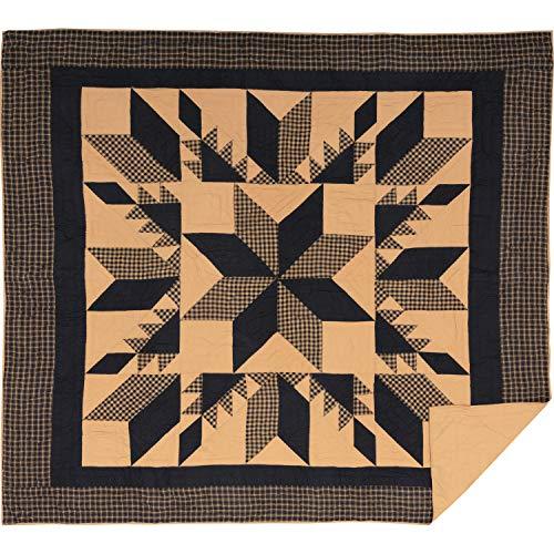 Dakota Star Primitiv Country Patchwork King Quilt 266,7x 241,3cm von Ashton & Weiden, VHC Marken (Quilts Primitive Country)