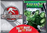 Hulk/Jurassic Park 3 2PK