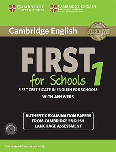 Cambridge english. First for schools.