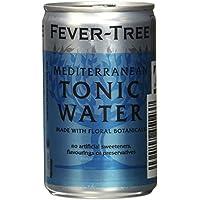 Fever-Tree Mediterranean Tonic Water, 3er Fridgepack, 24 (3x8) Dosen (24 x 150 ml)