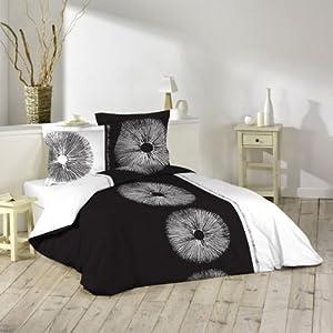 Douceur d'Intérieur 1640842 - Juego de cama de 3 piezas (240 x 220 cm), diseño estampado