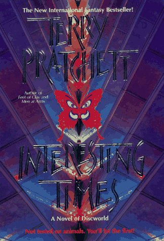 Book cover for Interesting Times