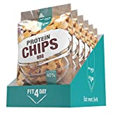 Best Body Nutrition Fit4Day Protein Chips BBQ, 450 g