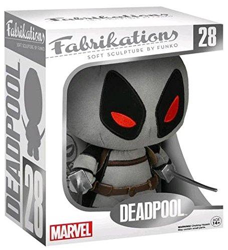 Funko - Peluche Marvel - Deadpool Fabrikation X-Force Costume Gris Variant 15cm - ()