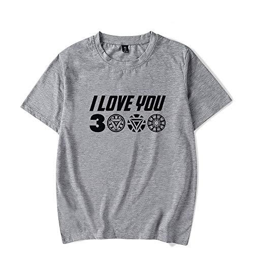Avengers End Game Shirt und Iron Man Shirt, Papa ich Liebe Dich 3000 Stark Avengers T-Shirt für Männer, Frauen und Jugend