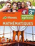 Mathématiques 4e/3e enseignement agricole : Manuel