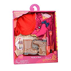 Our Generation 18-inch Ready To Ride Deluxe Doll Outfit