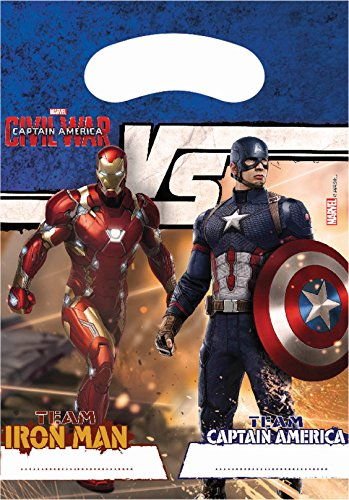 Unique Party Captain America Guerre Civile Invitations