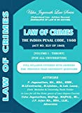 Law of Crimes- Indian Penal Code