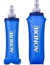 Aonijie SD15sans BPA pliable souple Bouteille d'eau bouilloire pour sports de plein air Marathon Cyclisme Camping Course