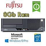 Fujitsu - PC Esprimo E9900 Core i3-540 3.06GHz 8Gb Ram 250Gb no ODD Windows 10 Professional - MAR (Ricondizionato Certificato) [Italia]