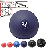 Slamball/Medizinball POWRX 3-20 kg (10 kg/Blau)