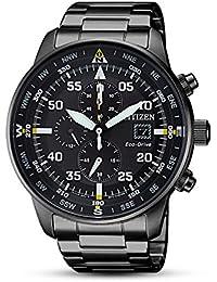 Citizen Men's Eco-Drive CA0695-84E Black Stainless-Steel Fashion Watch