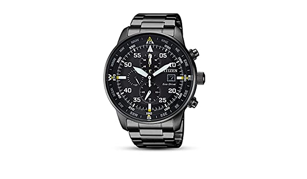 b45e4a94f Buy Citizen Men's Eco-Drive CA0695-84E Black Stainless-Steel Fashion Watch  Online at Low Prices in India - Amazon.in