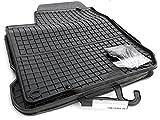 kh Teile 61010 Gummimatten Passform Allwetter Gummi Fußmatten 4-teilig schwarz