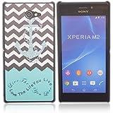 Voguecase Funda Carcasa Duro Tapa Case Cover Para Sony Xperia M2 (The life) + Gratis aguja de la pantalla stylus universales