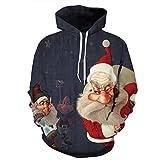 Marke Hoodies Männer/Frauen Sweatshirt 3d-gedruckten Weihnachten mit Kapuze Langarm Mens Hoody lässiger Pullover Mantel neue Ankunft, qydm 166, M