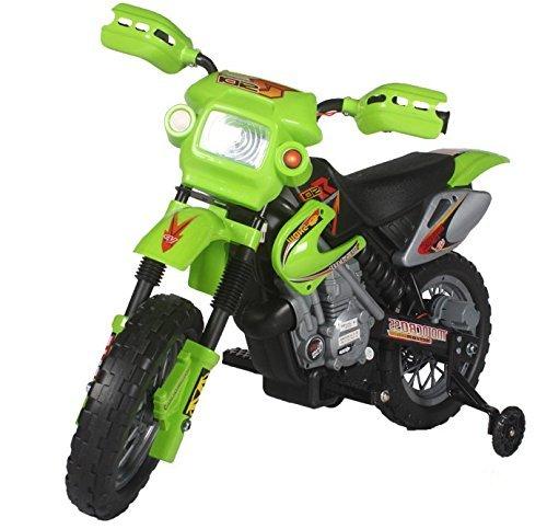 Preisvergleich Produktbild Kinderfahrzeug - Elektro Cross Kindermotorrad - 6V4,5Ah - Neuheit - 6V Akku (Grün)