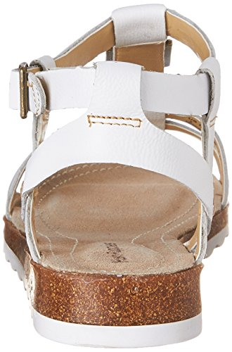 Hush Puppies Bretta Jade, Sandales Plateforme Femme Off White Leather