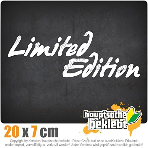 Limited Edition 20 x 7 cm In 15 Farben - Neon + Chrom! JDM Sticker Aufkleber