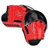 PULNDA PU Pattes d'ours Entraînement de boxe Mitt Target Focus Punch Pad for Muay Thai, kickboxing, Taekwondo - 1 paire