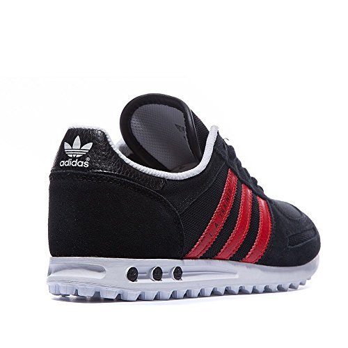 adidas Originals La Trainer, Baskets Basses mixte enfant Noir