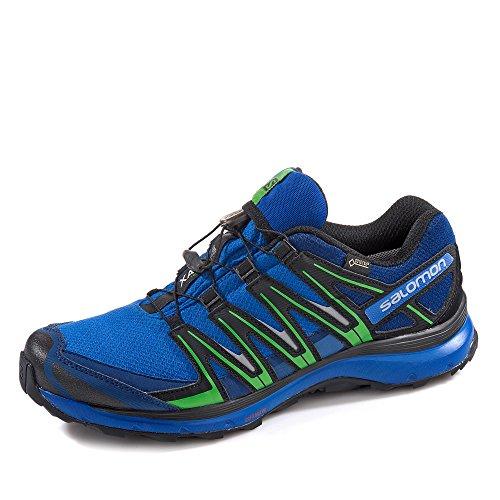 Salomon Homme XA Pro 3D GTX, Black/Black/Magnet, Synthétique/Textile, Chaussures de Course à Pied et Trail Running, Taille 46.6 Blau