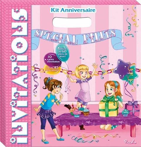 Kit anniversaire pour les filles par Piccolia