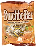 Durchbeisser Karamell - Weiches Toffee mit Karamellgeschmack - Leckere Karamellbonbons zum Naschen - (15 x 425g Beutel)