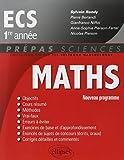 Mathématiques ECS - 1re année