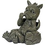 Figura de dragón para jardín