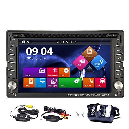 EINCAR Double 2 DIN Autoradio GPS-Navigation Auto Radio Head Units 6.2
