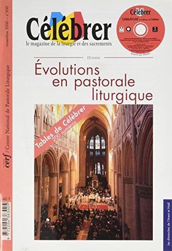 Evolutions en Pastorale Liturgie Célébrer N 300 Novembre 2000 Tables de Célébrer
