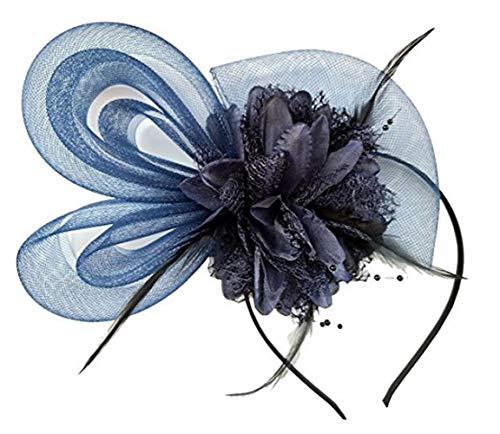 FORLADY 16-Color Bridal Tiara Ohr-förmigen Mesh Stirnband Brautjungfer Blume Haarnadel Bankett Tiara Weiblich