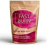Body Fit Detox Tee - 14 Tage Entschlackungskur - 100% natürliche Kräuterteemischung - Grüner Tee