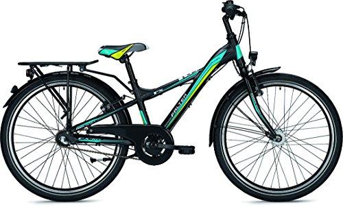 Kinder-/Jugendrad Falter FX 403 ND Y-Lite 24' Rh 31cm 3G Rücktritt , Farben:Schwarz-Matt